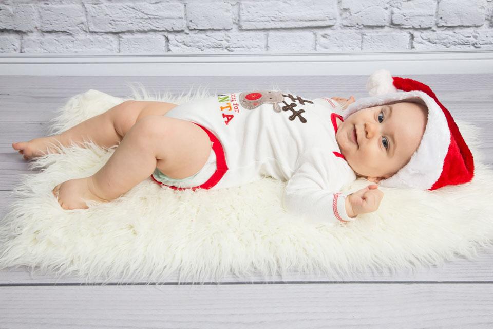 świąteczna fotografia dziecięca